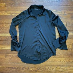 The Fifth Label black button front dress shirt XS
